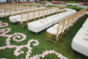Organic pattern displayed by Lounge Appeal wedding