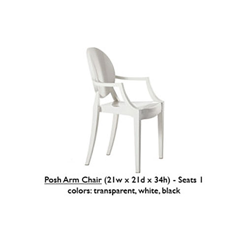 Posh Arm Chair