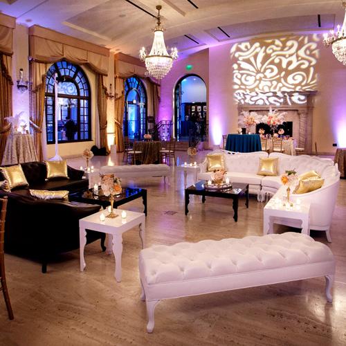 Bar bat mitzvah furniture rentals high end well